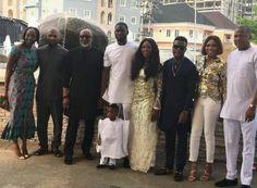 Tiwa Savage and husband dedicate their son Jamil