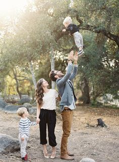 Idyllic Family Photos