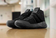 7d8e690fbd7 Release Date  Nike Kyrie 2 Triple Black Kyrie Basketball