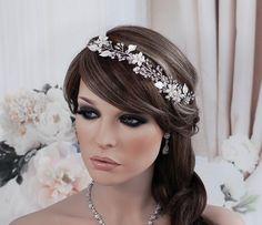 SALE Vine Hair Headband Accessory Bridal Band by EleganceByKate