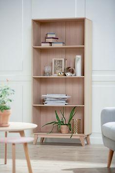 KALBY reol / bokhylle. | Skandinaviske hjem, nordisk design, Nordic Retro, Skandinavisk design, nordiske hjem, retro | JYSK