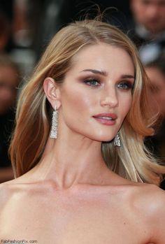 rosie huntington cannes makeup - Google-søgning