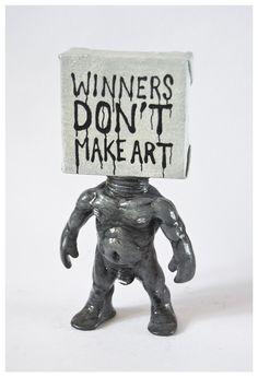 "Johnny Paint me Motherfucker ""WINNERS DON'T MAKE ART"" · Emilio Subira Originals · Online Store Powered by Storenvy"