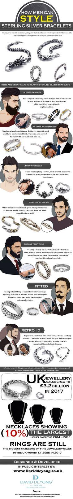 Jewellery Uk, Sports Stars, Jewelry Branding, Bracelets For Men, Sterling Silver Bracelets, Women Jewelry, David, Popular, Website