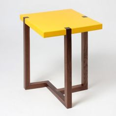 #yellow #side #table