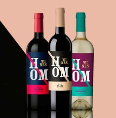 #Packaging #Design #Wines #GraphicDesign #Design #Label #NewProject #HomWines