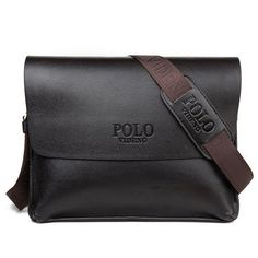 e83904ad09c4 Hot Sale Leather Fashion High Quality Men s Messenger Crossbody Travel Bags  Laptop Shoulder Bag