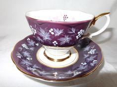 Royal Albert Rouen   Chateau Series Purple