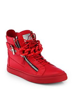 Giuseppe Zanotti Tonal Chain Sneakers! Love these, love them more in the royal blue but they are 1K+ unless they're a gift, I won't be getting these!