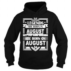 Make this funny birthday in month gift saying   Legends Are Born In August TShirt  as a great for you or someone who born in August Tee Shirts T-Shirts Legging Mug Hat Zodiac birth gift
