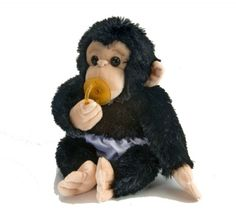 Cuddle Babies Chimp Plush at theBIGzoo.com, a toy store that has shipped over 1.2 million items.