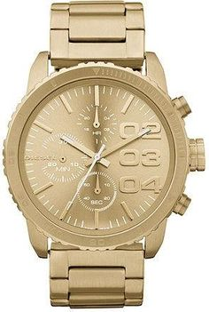 Diesel Women's DZ5302 Advanced Gold Watch « Impulse Clothes