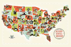 The Altered States of America – Silkscreen Print Project by Chop Shop — Kickstarter