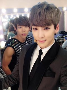 U-Kiss Hoon and Kevin