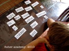 Fisher Academy International ~ Teaching Home: First Reading Lessons in earnest