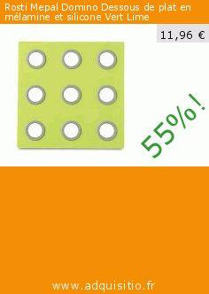 Rosti Mepal Domino Dessous de plat en mélamine et silicone Vert Lime (Cuisine). Réduction de 55%! Prix actuel 11,96 €, l'ancien prix était de 26,42 €. http://www.adquisitio.fr/rosti-mepal/domino-dessous-plat-2