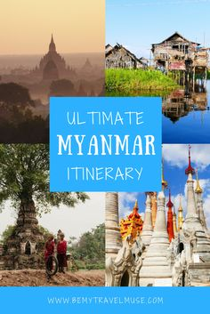 A comprehensive guide to travel in Myanmar, a country quickly gaining popularity amongst backpackers in Southeast Asia (for good reason! This itinerary includes stops in Yangon, Inle Lake, Bagan, Mandalay + more! Travel tips for your trip to Burma. Travel Advice, Travel Guides, Travel Tips, Travel Destinations, Travel Hacks, Budget Travel, Travel Photos, Myanmar Travel, Asia Travel