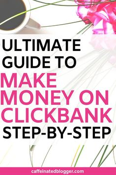 This awesome Clickbank Beginners Guide will cover everything you need to know to start making money promoting Clickbank products. And I will teach you how you can drive free traffic from Pinterest to it.