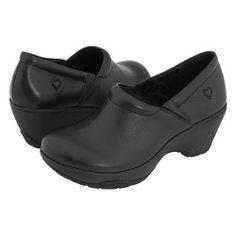 Softspots NURSE MATES BRYAR Womens Black Nursing Comfort Slip On Shoe #Softspots #NursuingUniform