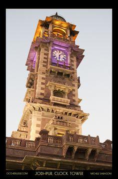 Time stopped in #Jodhpur.   #clocktower.