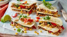 Lamb quesadilla recipe - 9Kitchen