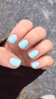OPI Gelshine Don't Get Fresh With Me gel nails.