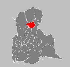 Ubicación geográfica del Municipio San Judas Tadeo - Umuquena