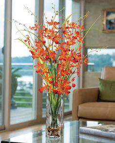 Dramatic, High Impact, Large Silk Flower Arrangements from Silkflowers.com