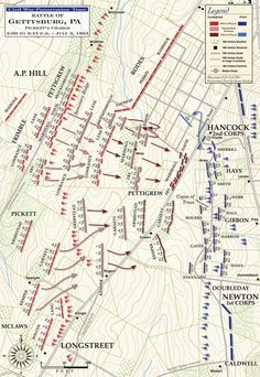 1863-07-01 Battle of Gettysburg