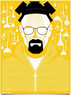 New Breaking Bad posters by Ty Mattson in So. Cal. Mattson's signed-and-numbered posters will be available for sale Tues., Sept. 24 at 10 a.m. PT/1 p.m. ET in the official Breaking Bad store. I bet these will sell out fast.