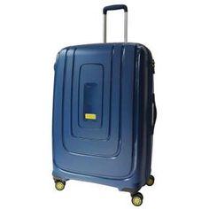 TSAロック搭載スーツケース(108L) AD821003 マリンブルー【ビックカメラグループ独占販売】