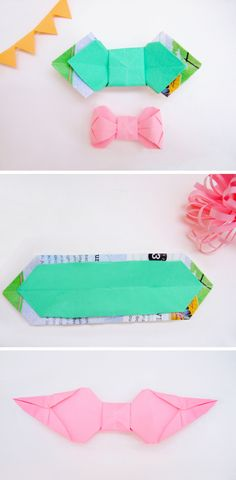 couture paper bow ties @ bloomize.com