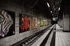 Frankfurt, subway by Zbiginiew Peter Pininski