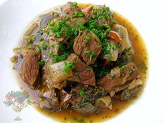 Beef Stew w. Eggplant, Dried Lime, and Ras el Hanout -- Recipe from Chris Clark's Nutrition Grail blog @nutrigrail