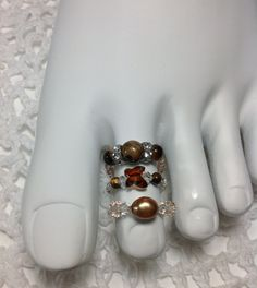 Free Shipping Stretch Toe Rings Choose1 With by mycreations001