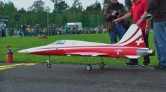 RC Tiger F-5 Turbine Modell Jet Hausen 2013 Flugtag r/c Show:TURBINE FIBERGLASS $85.00 @go