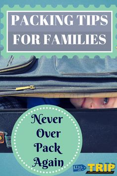 These packing tips for families will help on your next trip because packing for a trip is stressful enough, but adding kids takes it to another level. Vacation Packing, Packing Tips For Travel, Packing Lists, Travel Hacks, Vacation Ideas, Packing Tricks, Europe Packing, Traveling Europe, Backpacking Europe