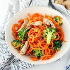8 creative ways to use carrots (like making carrot noodles!). #healthyrecipes #healthyeating #veggies | everydayhealth.com