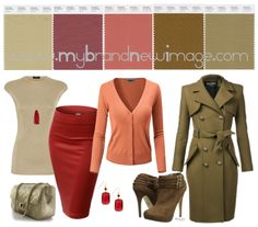 Marsala Color Pairing - love it with the coral and olive.  Will look great in your next jewelry design too.