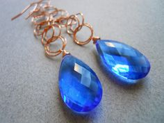 It was pointed out to me recently that this beautiful blue color of quartz is said to promote healing and psychic ability, among many other things. http://www.shirzay.com