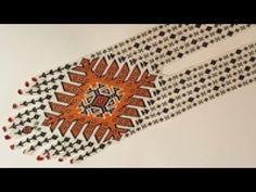 الجزء السادس والاخير  من العقد الخرز علي النول بالشرح الكافي للمبتدات6 Beading Projects, Beads, Youtube, Beading, Bead, Pearls, Seed Beads, Youtubers, Youtube Movies