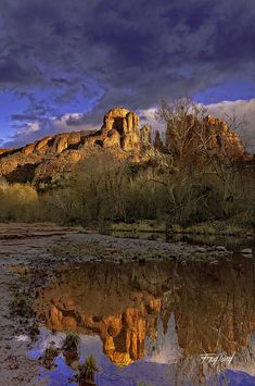 ✯ Cathedral Rocks From Red Rock State Park