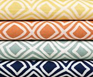Smith & Noble Fabric / http://www.smithandnoble.com/more-window-treatments/fabric-trim-by-the-yard/fabric-collections/