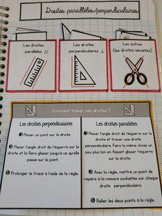 CM1/CM2 • Mathématiques • Leçons à manipuler ~ Montessori Math, Homeschool Math, School Organisation, Classroom Organization, Math 5, Special Education Classroom, Learning Games, Interactive Notebooks, Math Activities