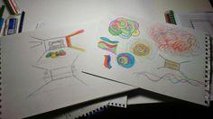 "proyecto ""retropsicodelia"" My Works, Laptop, Blue Prints, Laptops"