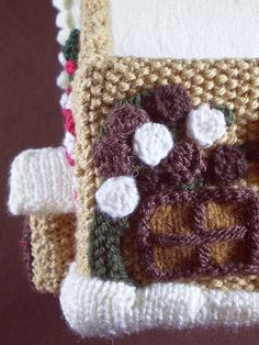 Ravelry: Gingerbread House 5, Chocolate Tree pattern by Frankie Brown