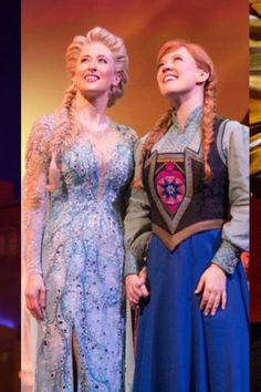 In Summer (and Winter!) you can get official Frozen on Broadway merchandise from the Playbill Store! Frozen On Broadway, Puppet Costume, Rosemaling Pattern, Frozen Sisters, Logo Mugs, Frozen Heart, Frozen Costume, Kristen Bell, Scenic Design