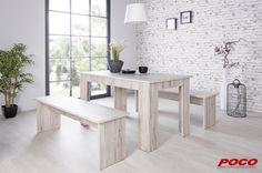 Tischgruppe München Sorrento Eiche Nachbildung Ca. 160 Cm