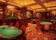 The Poker Room at the Monte Carlo Hotel,  Las Vegas