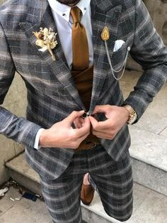 Available Size: Suit Material: viscose, polyester, elestan Machine Washable: No Fitting: Slim-Fit Cutting: Double Slits, Double Button Package Include: Suit Clothes: Jacket and Pants Plaid Suit, Glen Plaid, Suit Fashion, Vest Jacket, Olympia, Slim, Fitness, Clothes, Black